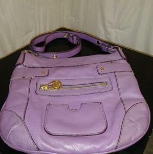 Isaac Mizrahi live lavender purse